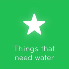Things that need water 94