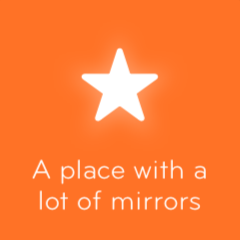 A place with a lot of mirrors 94