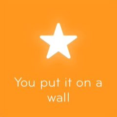 You put it on a wall 94