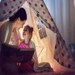 Daughter tent pic 94