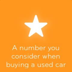 A number you consider when buying a used car 94