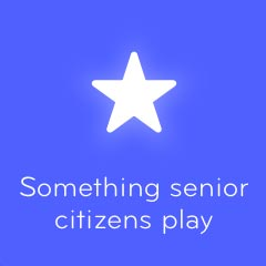 Something senior citizens play 94