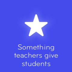 Something teachers give students 94