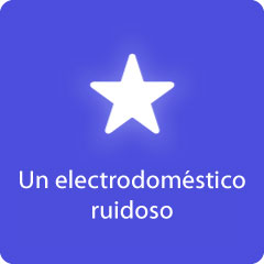 Un electrodoméstico ruidoso 94