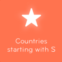 Countries starting with S 94