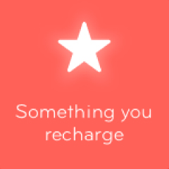 Something you recharge 94