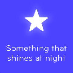 Something that shines at night 94