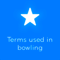Terms used in bowling 94