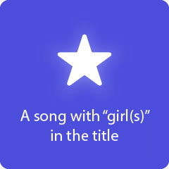 A song with girls in the title 94