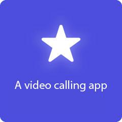 A video calling app 94