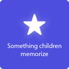 Something children memorize 94