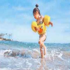 Imagen playa niña 94