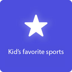 Kid's favorite sports 94