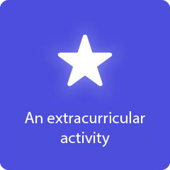 An extracurricular activity 94