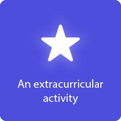 An extracurricular activity 94