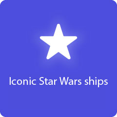 Iconic Star Wars ships 94