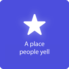 A place people yell 94